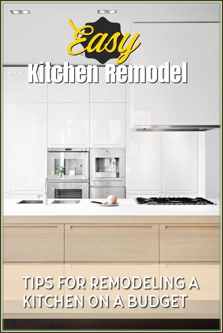 When You Are Getting Ready To Do A Big Project Hire Someone To Help You Plan It Out Unless You Or Someone You Simple Kitchen Remodel Kitchen Remodel Remodel