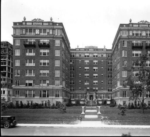 Highland Terrace Apartments: Willow Terrace Apartments, Louisville, Kentucky, 1927
