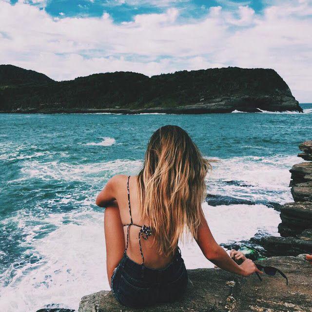 Inspiração Fotos Tumblr Na Praia Sozinha Foto Na