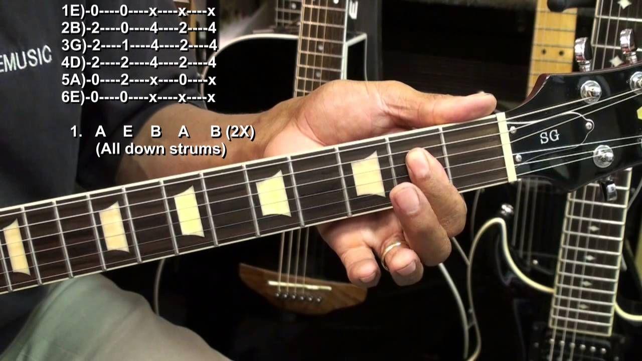 Black Guitar Lesson Tutorial Michaelieclark