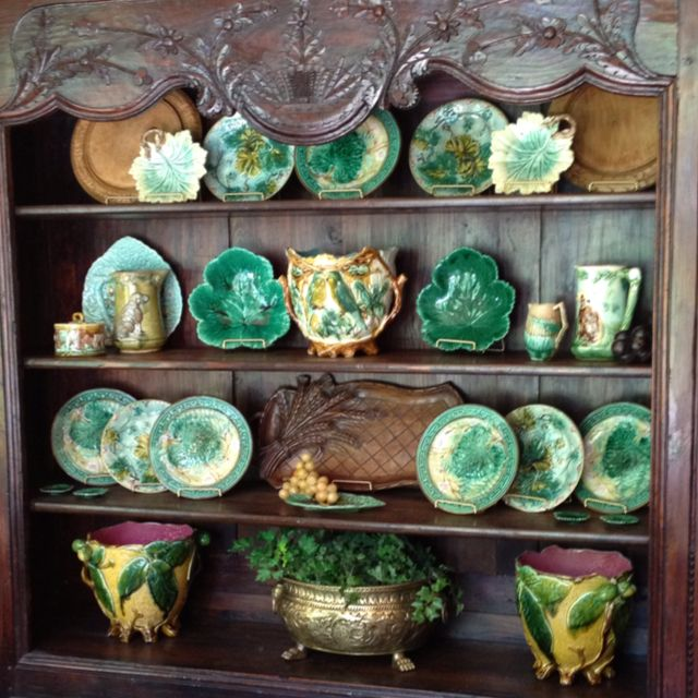 Pin By Jane Edwards On For The Home Majolica Pottery Majolica Antique Pottery