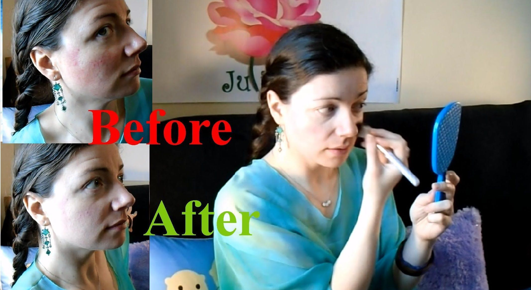 How to Cover Rosacea with Drugstore Makeup and No Skill