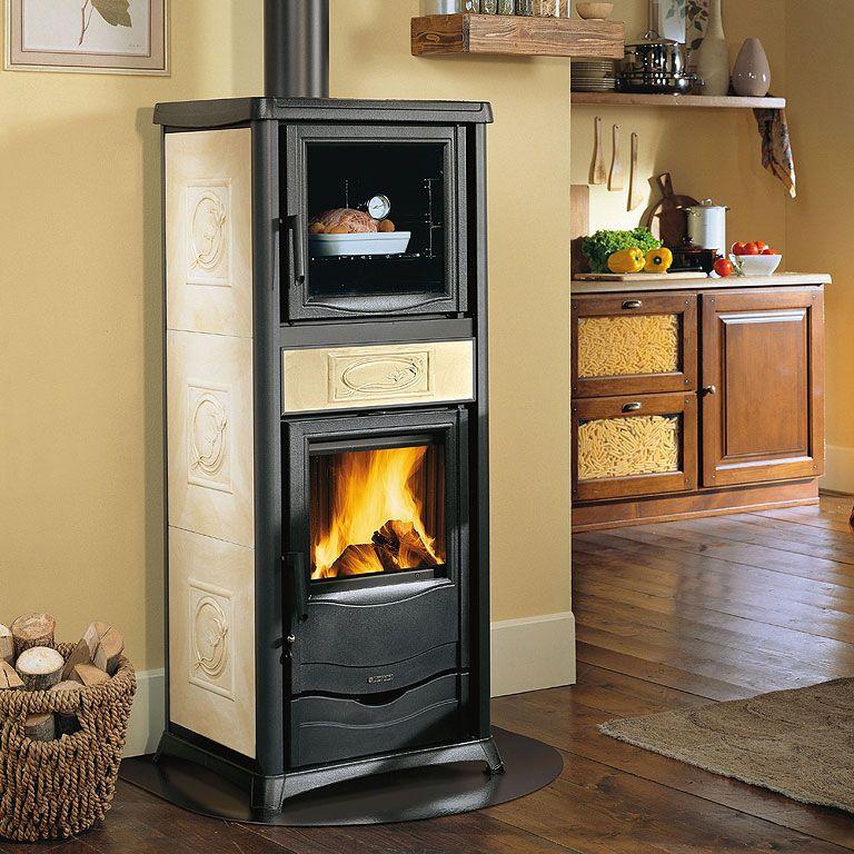 La Nordica Rosella Plus Forno Wood Burning Cooking Stove Wood
