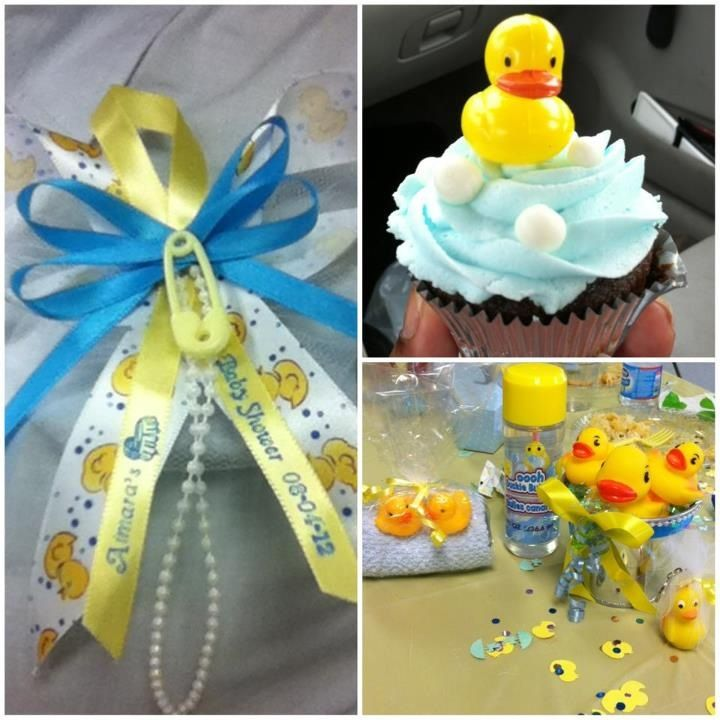 Rubber Duck Baby Shower Can Substitute Ideas For Other Themes