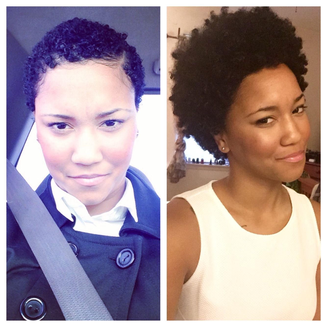 41 months post big chop.  Natural hair styles, Hair growth, Hair