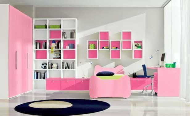 Idee Camerette ~ Idee cameretta bimba arredare una bella cameretta rosa
