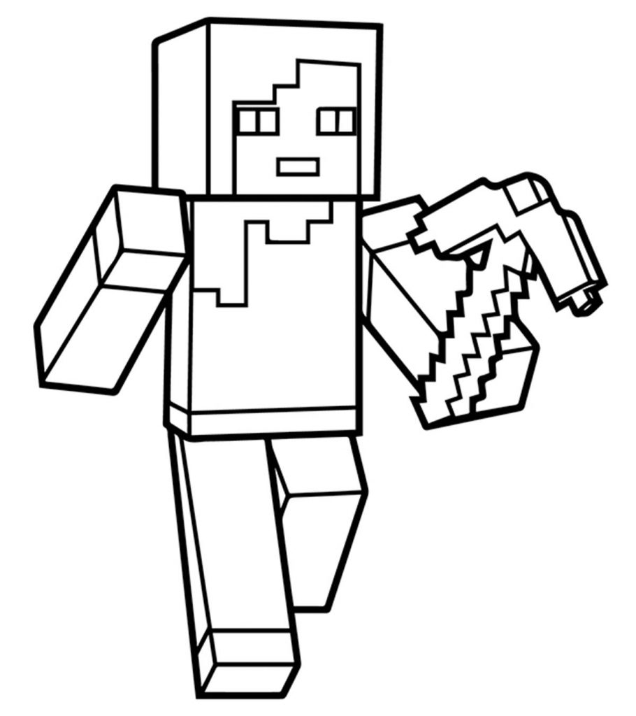 Pin On Minecraft Coloring