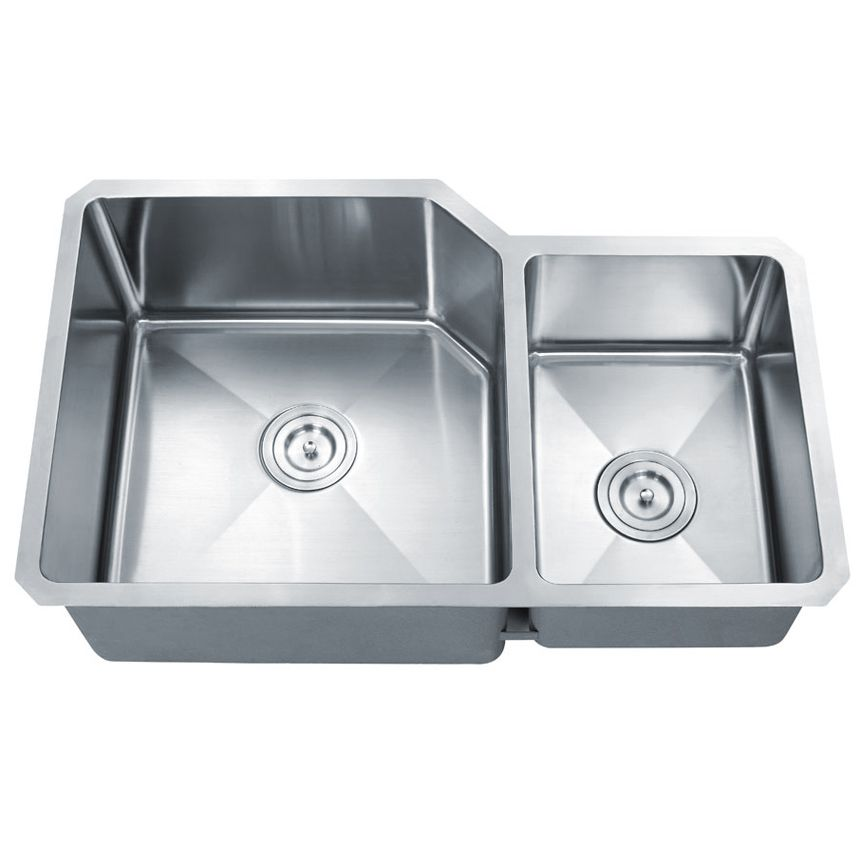 Double Kitchen Sink One Large Side And One Smaller My Favorite Things About This O Apron Sink Kitchen Double Stainless Steel Kitchen Sink Double Kitchen Sink