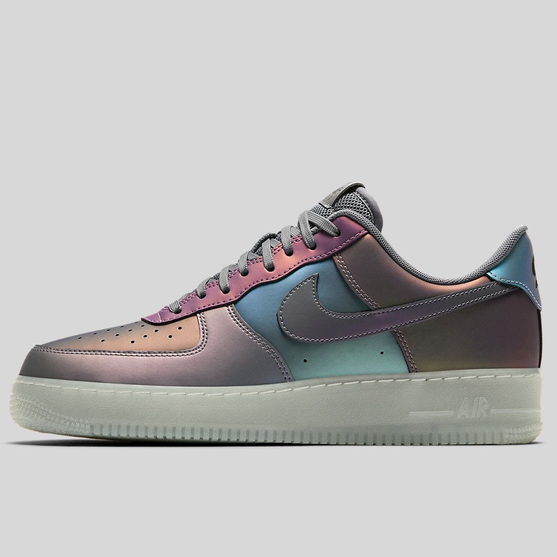 Nike Air Force 1 07 LV8 Iridescent Pinterest Tenis Zapatos