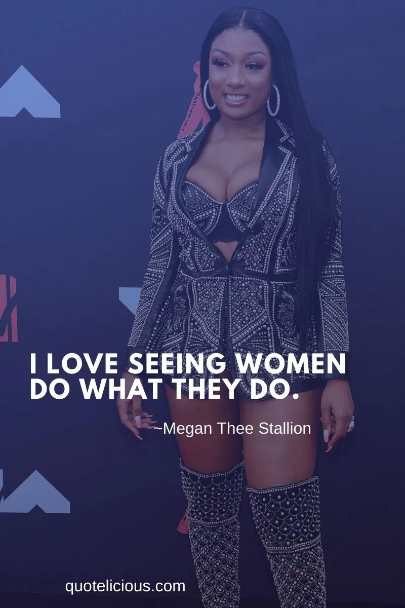 37 inspirational megan thee stallion quotes and sayings on success in 2020 stallion megan woman quotes 37 inspirational megan thee stallion