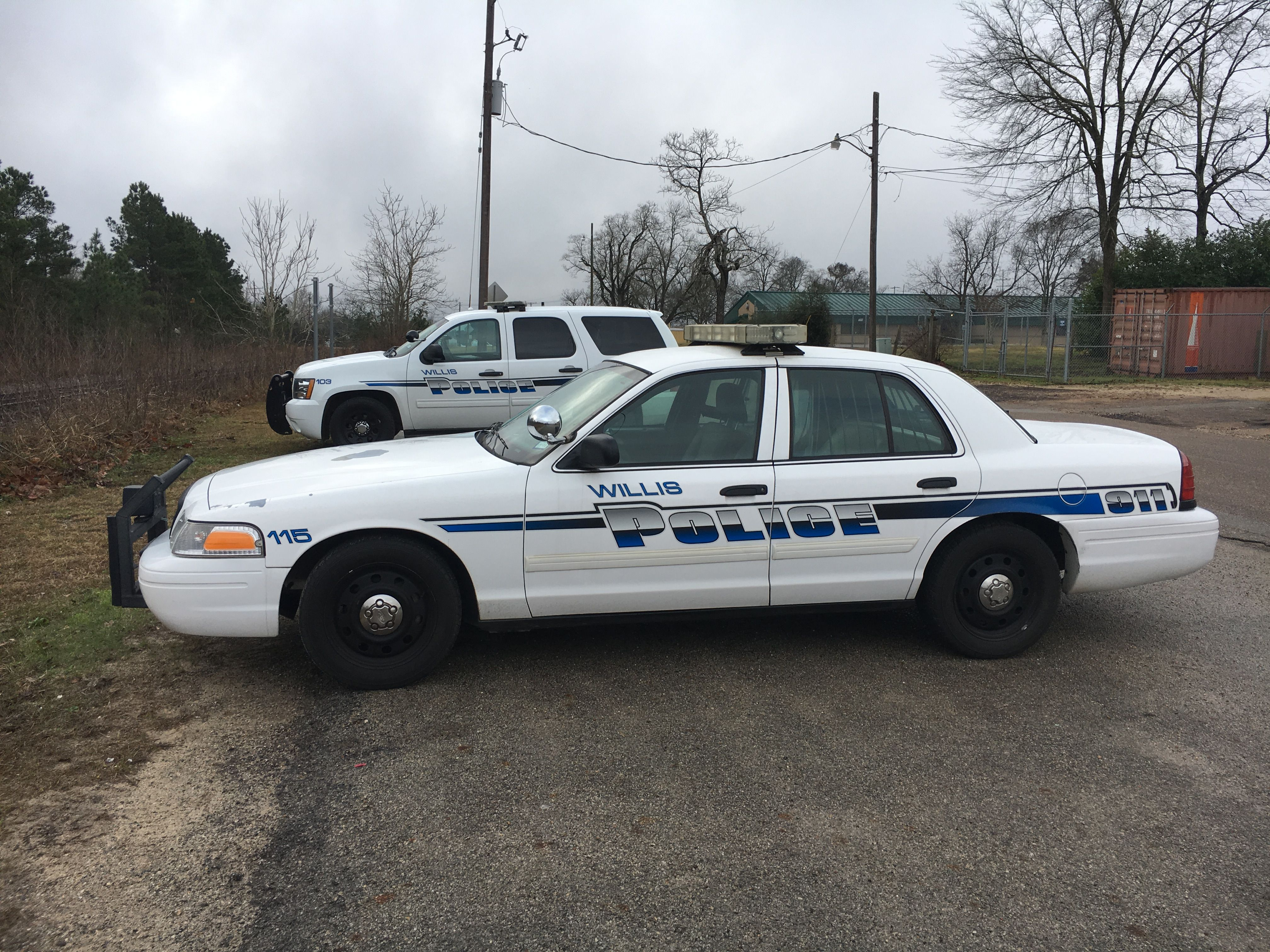 Willis Police Department Ford Crown Victoria Texas Emergency Vehicles Police Department Police