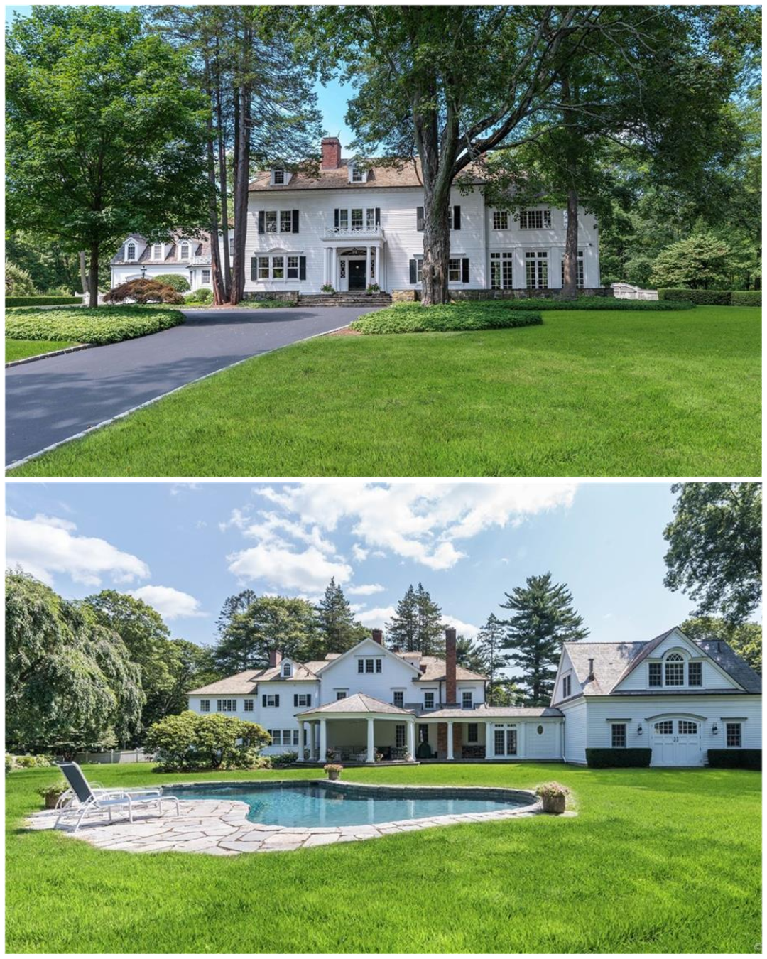 Considered One Of The Most Admired And Beloved Homes In All Of New Canaan This Iconic Masterpiece Is Stately Gr Mansions Luxury Real Estate Mansions For Sale