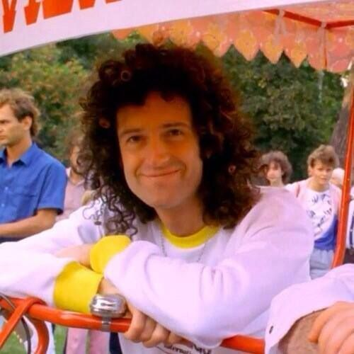 Brian May - Lovely smile <3