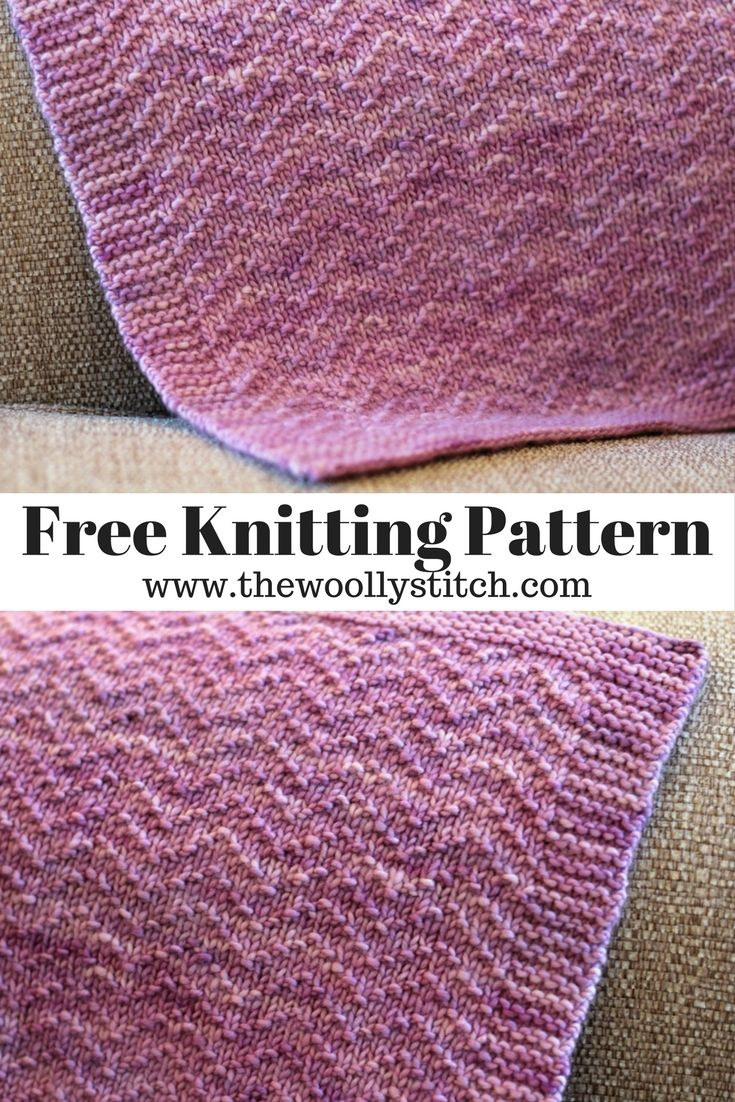 Very excited to share a new knit blanket pattern with you today ...