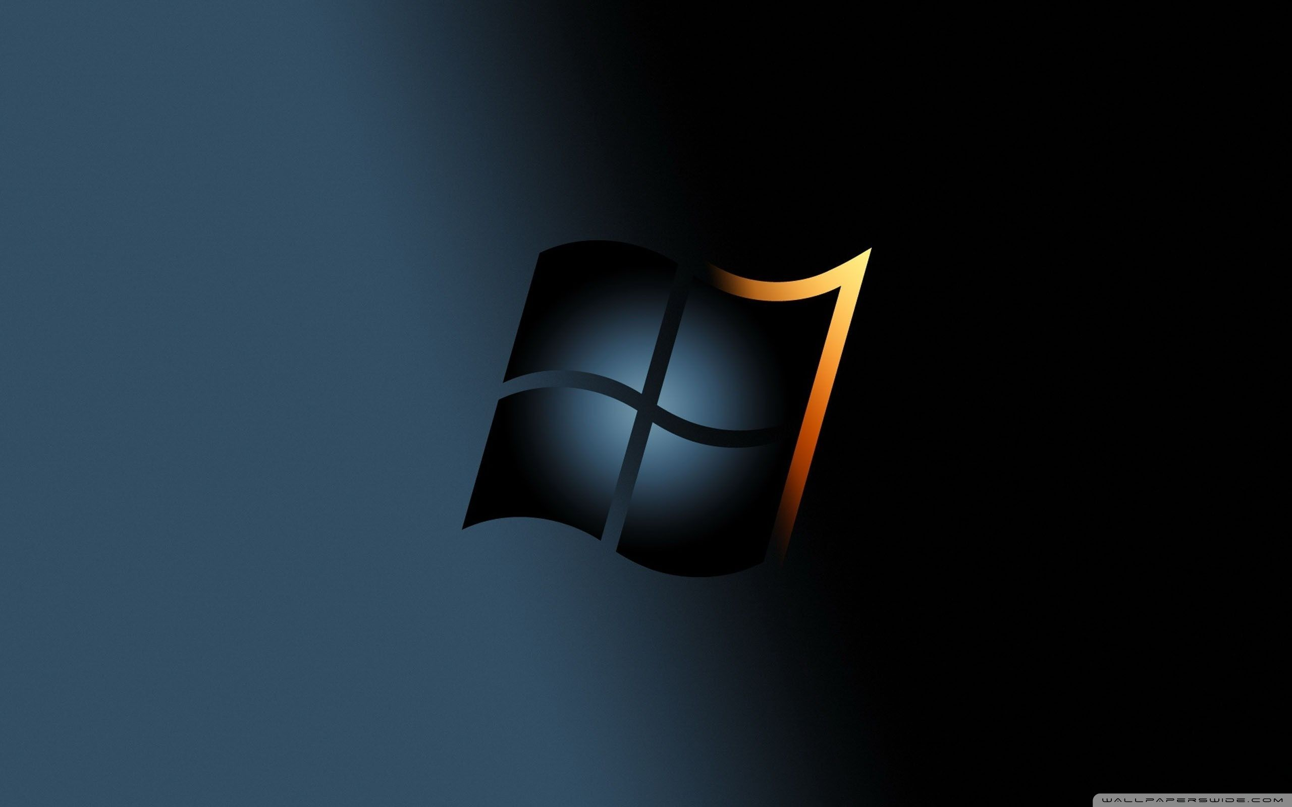 windows 7 dark hd desktop wallpaper high definition fullscreen