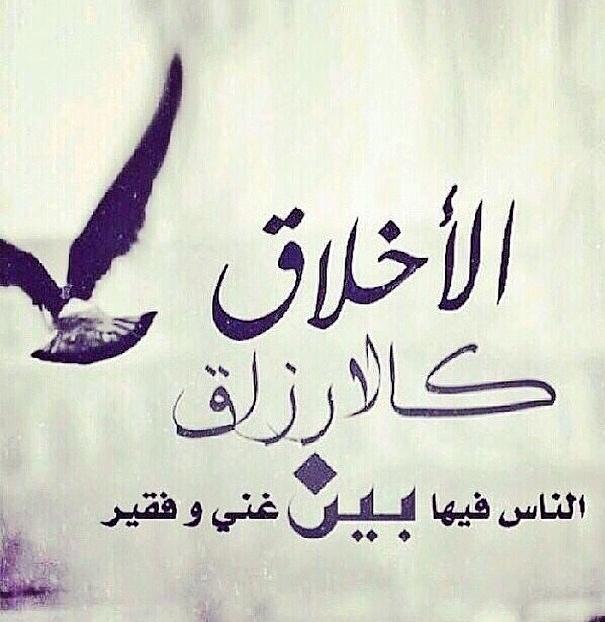صور عن الاخلاق الادب احسن من العلم صباح الورد Islamic Love Quotes Photo Quotes Cool Words