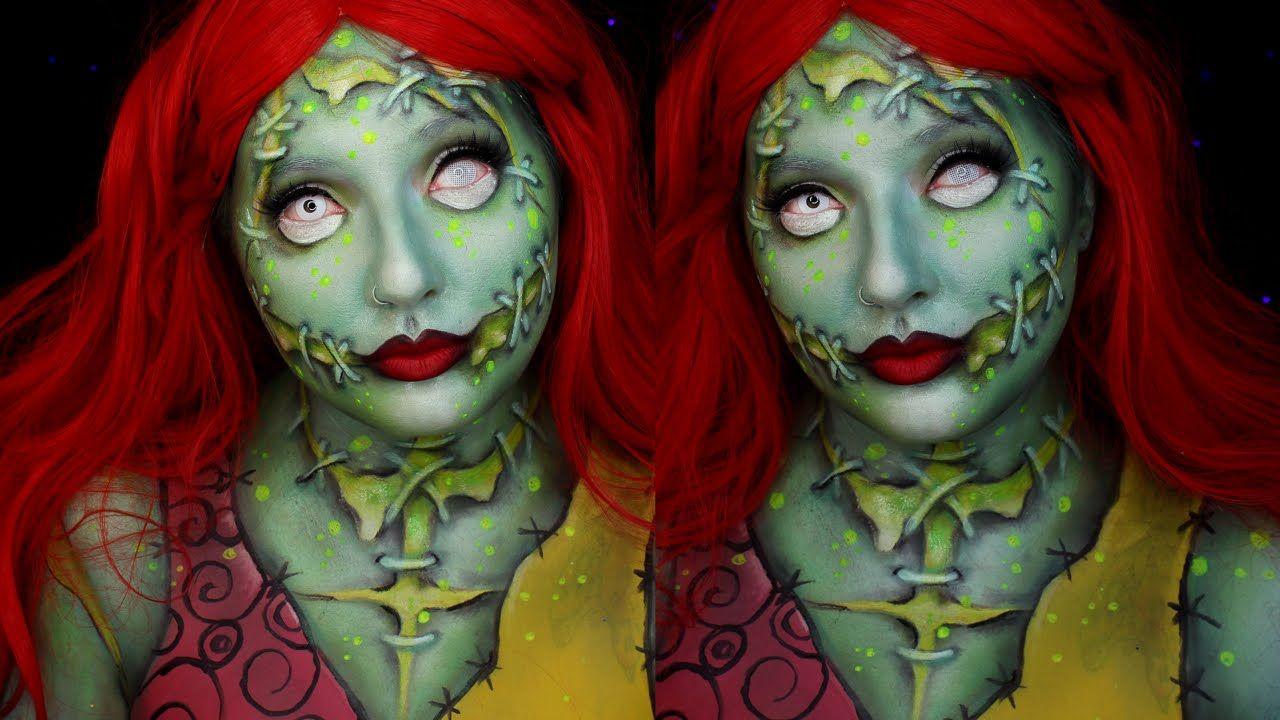 Radioactive Sally Nightmare Before Christmas Halloween Makeup ...