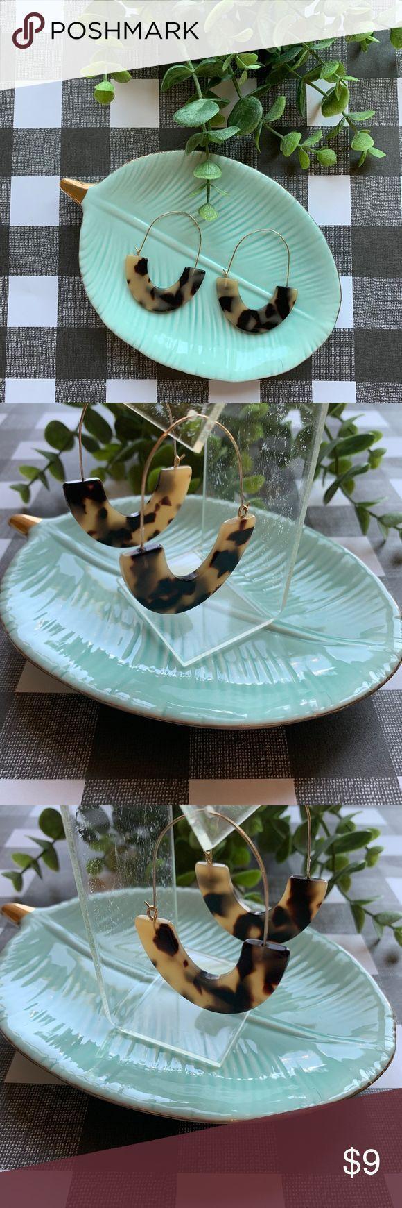 Glossy Resin Tortoise Earrings SugarFix by Baublebar Cute Tortoise Earrings!  I …,  #Bauble…