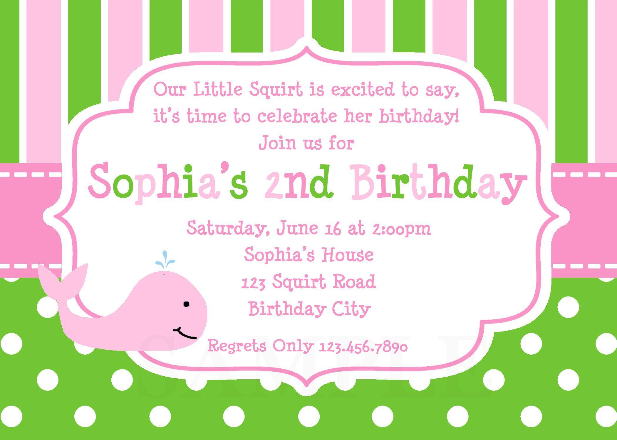 Custom Birthday Invitations Walmart