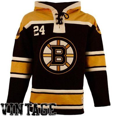 Boston Bruins Jersey Lace-Up Pullover Hoodie