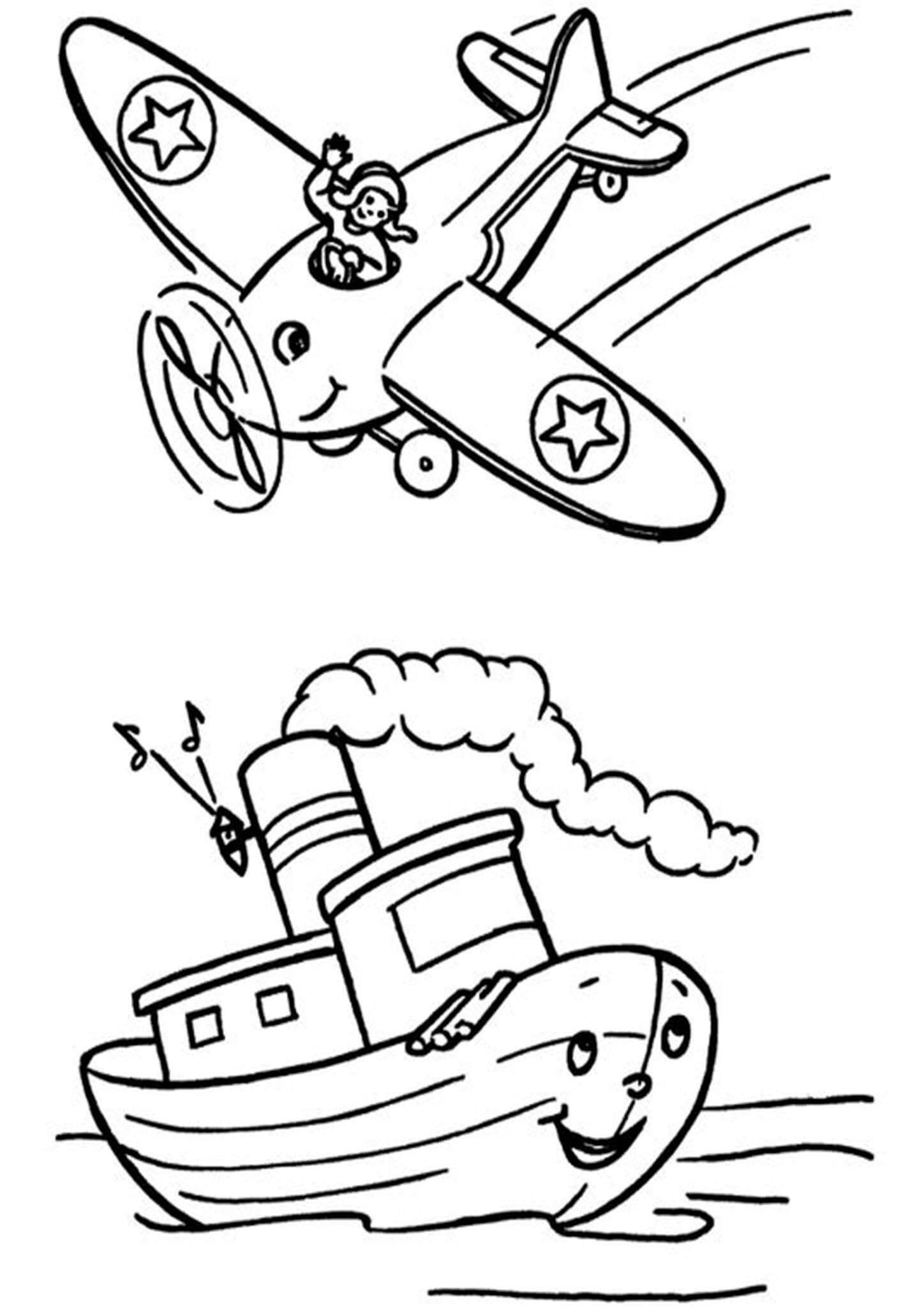Free Easy To Print Airplane Coloring Pages Airplane Coloring Pages Coloring Pages For Boys Disney Coloring Pages