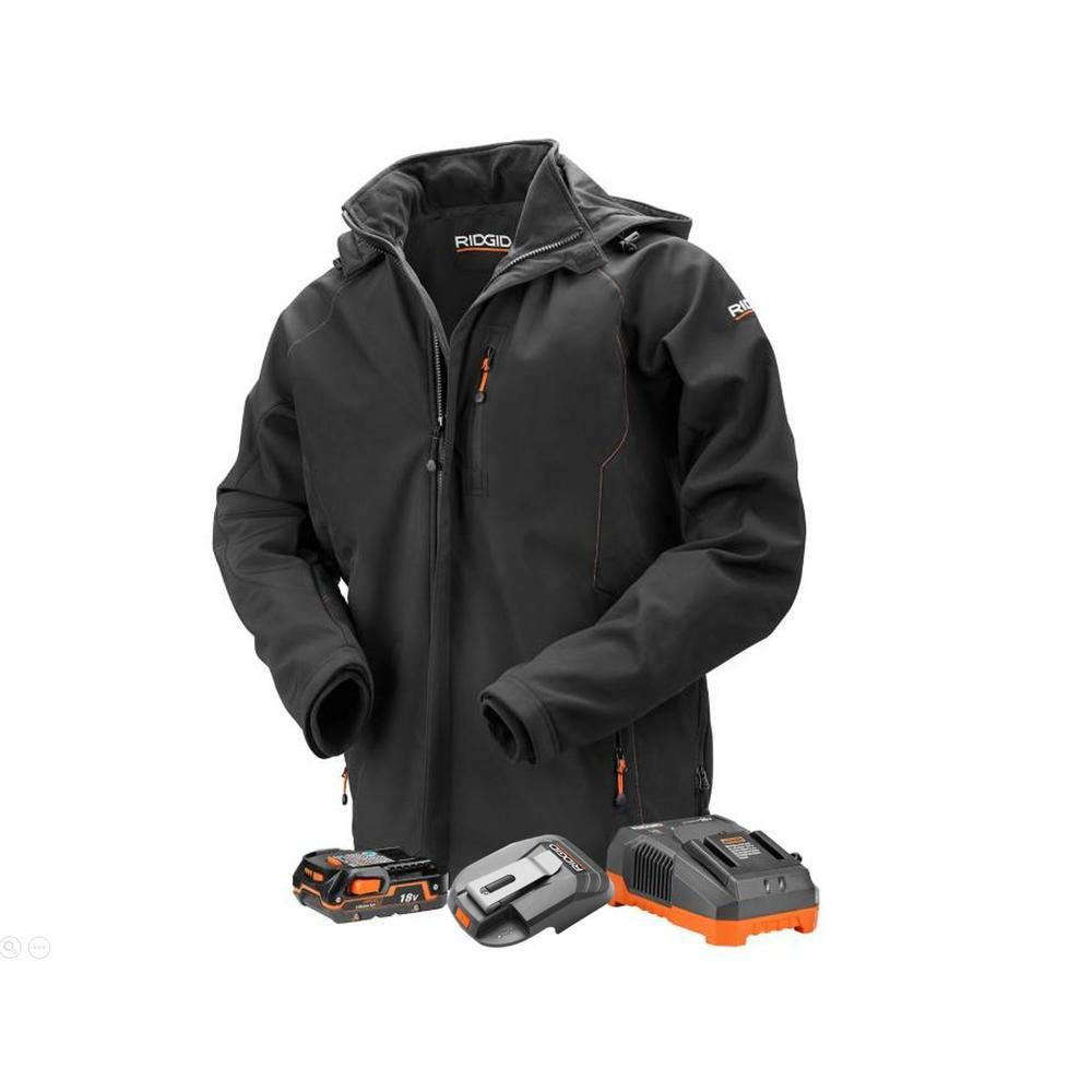 Ridgid 18 volt battery heated jacket review her tool