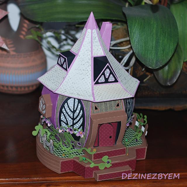 DeZinesbyEM Pumpkin Cottage from SVGCuts Paper