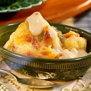Bread Pudding with Vanilla Sauce Recipe