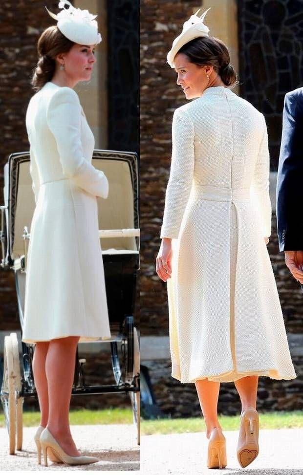 pippa middleton christening | Pippa Middleton dons ...