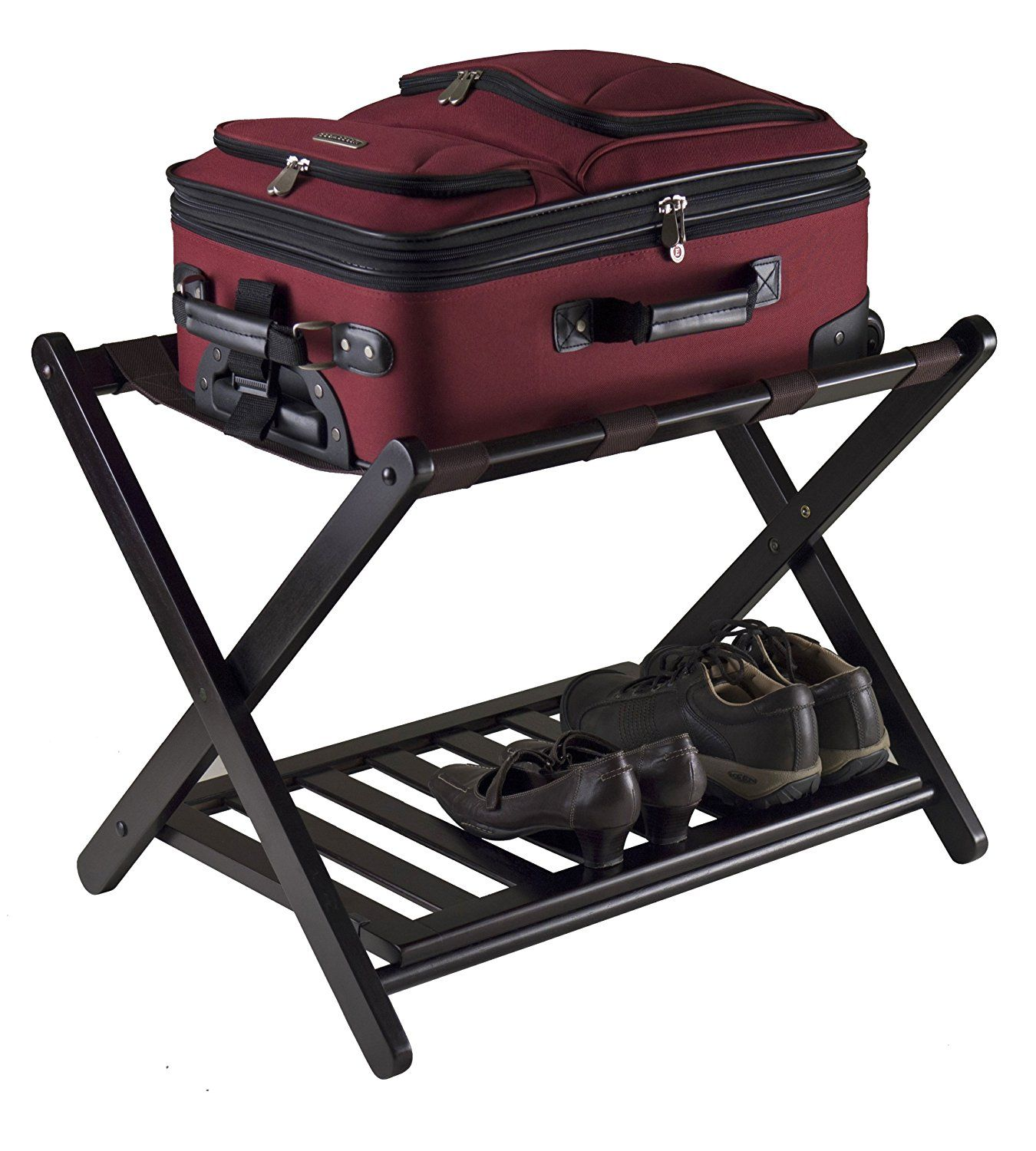 Captivating Amazon.com: Winsome 92436 Luggage Rack With Shelf: Home U0026 Kitchen
