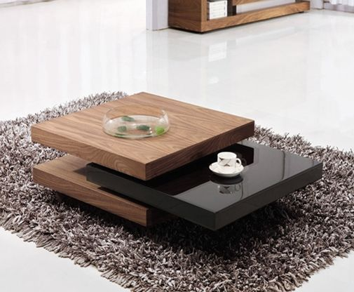 Brilliant Ivana 3 Tier Rotating Coffee Table Black Walnut In 2019 Cjindustries Chair Design For Home Cjindustriesco