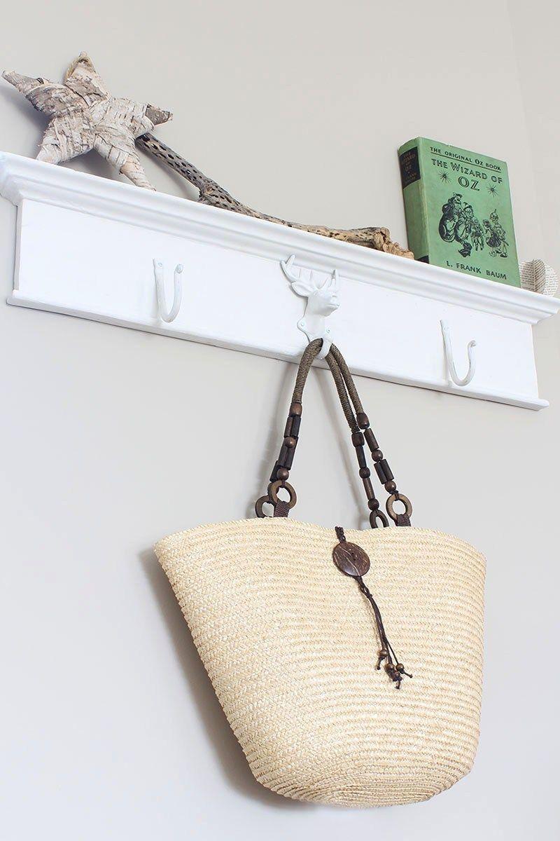 Diy coat rack from an antique header diy coat rack