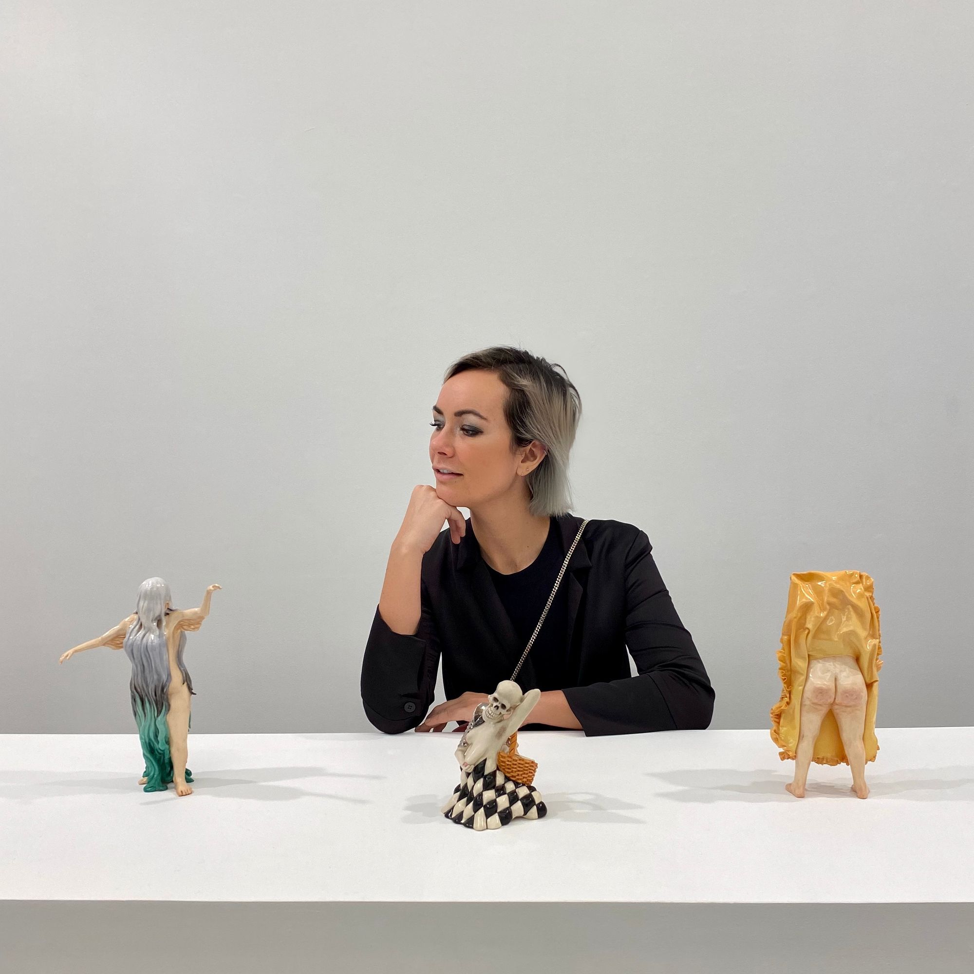 Jessica stoller at ppow gallery in 2020 chelsea art