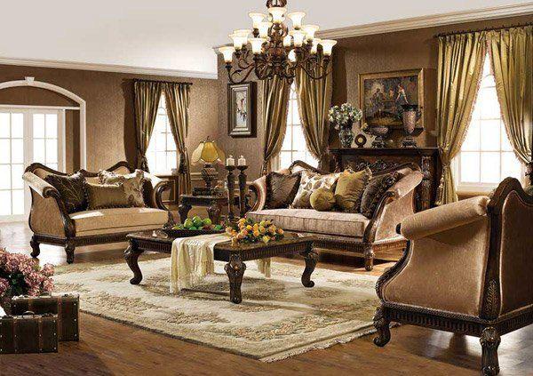 15 Baroque Designed Living Rooms Home Design Lover Tuscan Living Rooms Traditional Living Room Furniture Italian Living Room Italian style living room decor