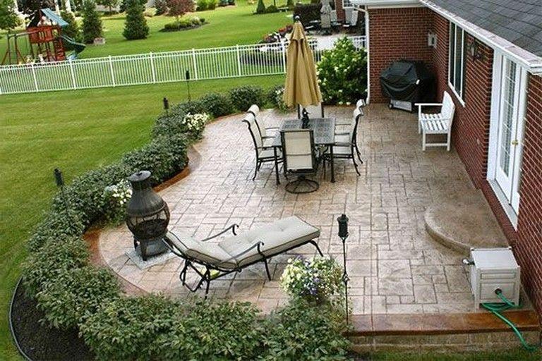 33+ Comfy Backyard Patio Design Ideas #patiodesign