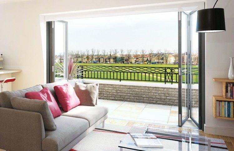 Cerrar terrazas - ideas para acristalar balcones a la moda ...