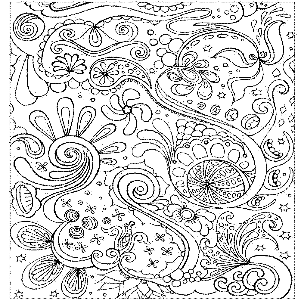 Coloring pages to color online for free - Art Pages To Color Online Colouring Pages Adults Onlineabstract Coloring