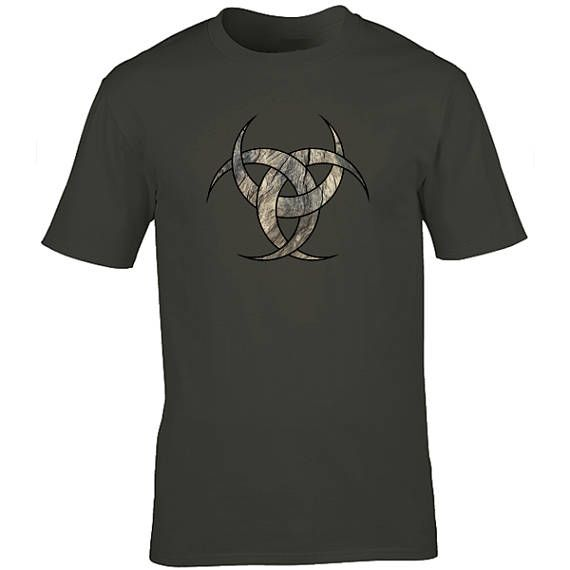 Moon T Shirt Celtic Tshirt Graphic Tee Cool Tshirt Mens Gift