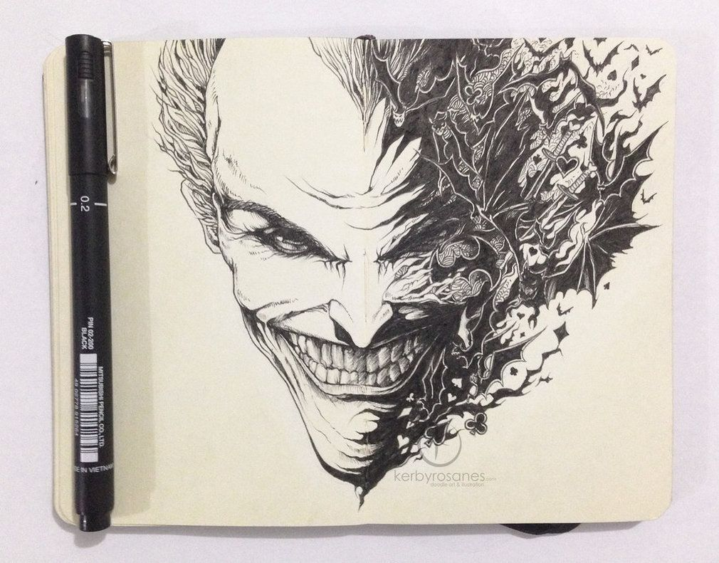 MOLESKINE DOODLES Why So Serious