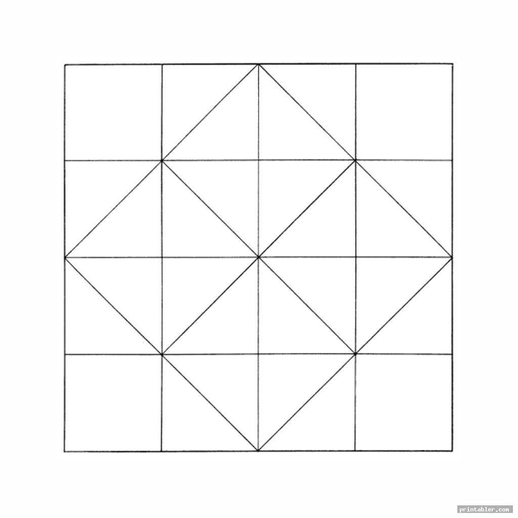 Blank Printable Fortune Teller Image Free