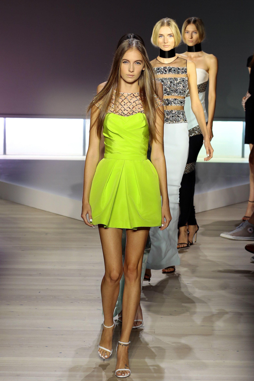Pamella Roland Spring 2016 Ready-to-Wear Fashion Show
