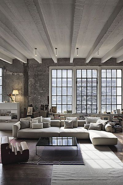 Big windows + clean lines + simple color palette Beautiful modern