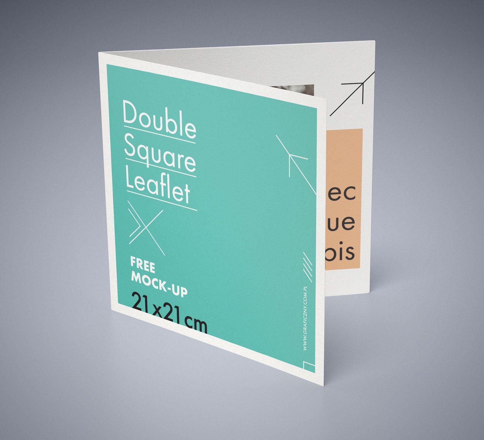 double fold brochure