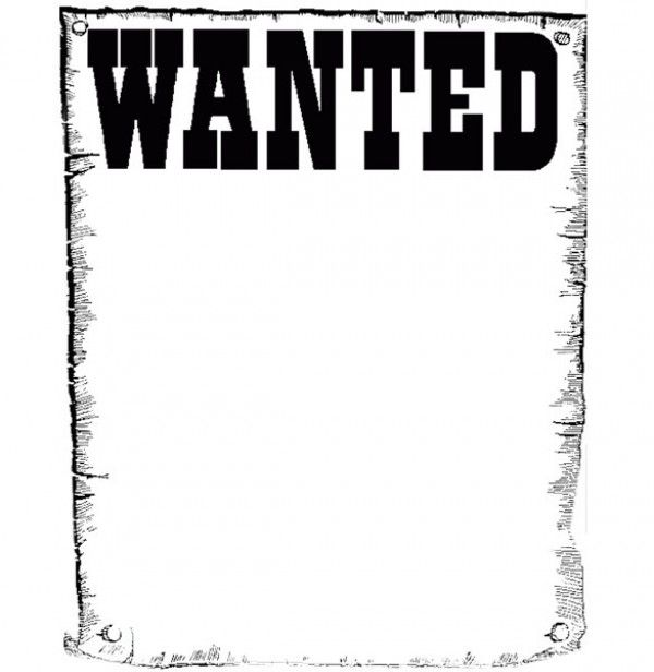 project 3  wanted poster template