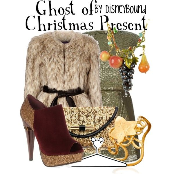 """Ghost of Christmas Present"" by lalakay on Polyvore"