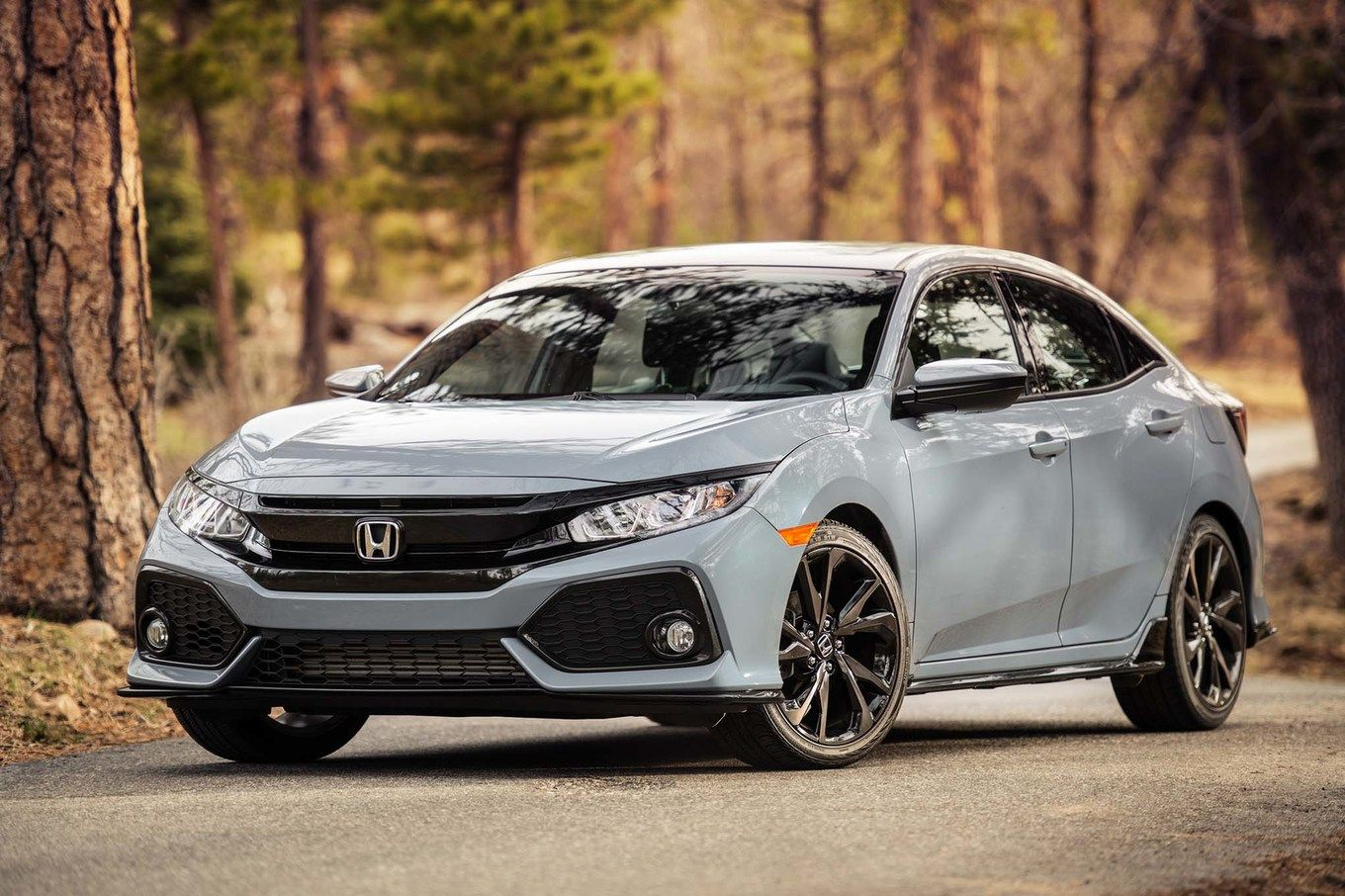 2017 Honda Civic Hatchback Sport In Sonic Gray