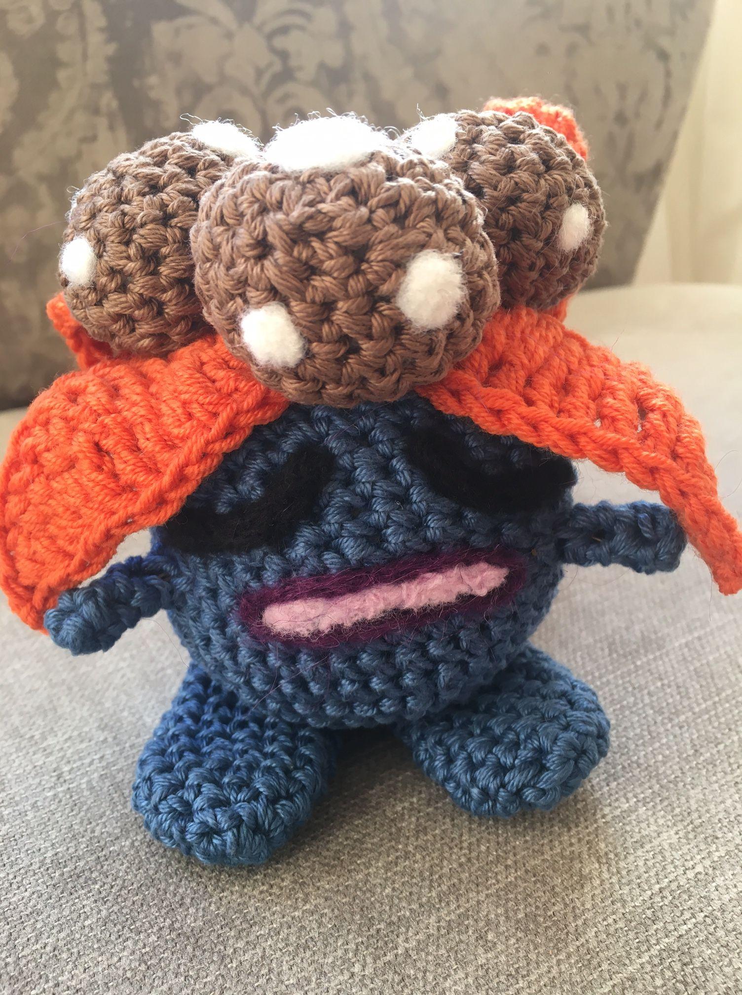 duflor gloom pokemon häkeln crochet free pattern kostenlose ...