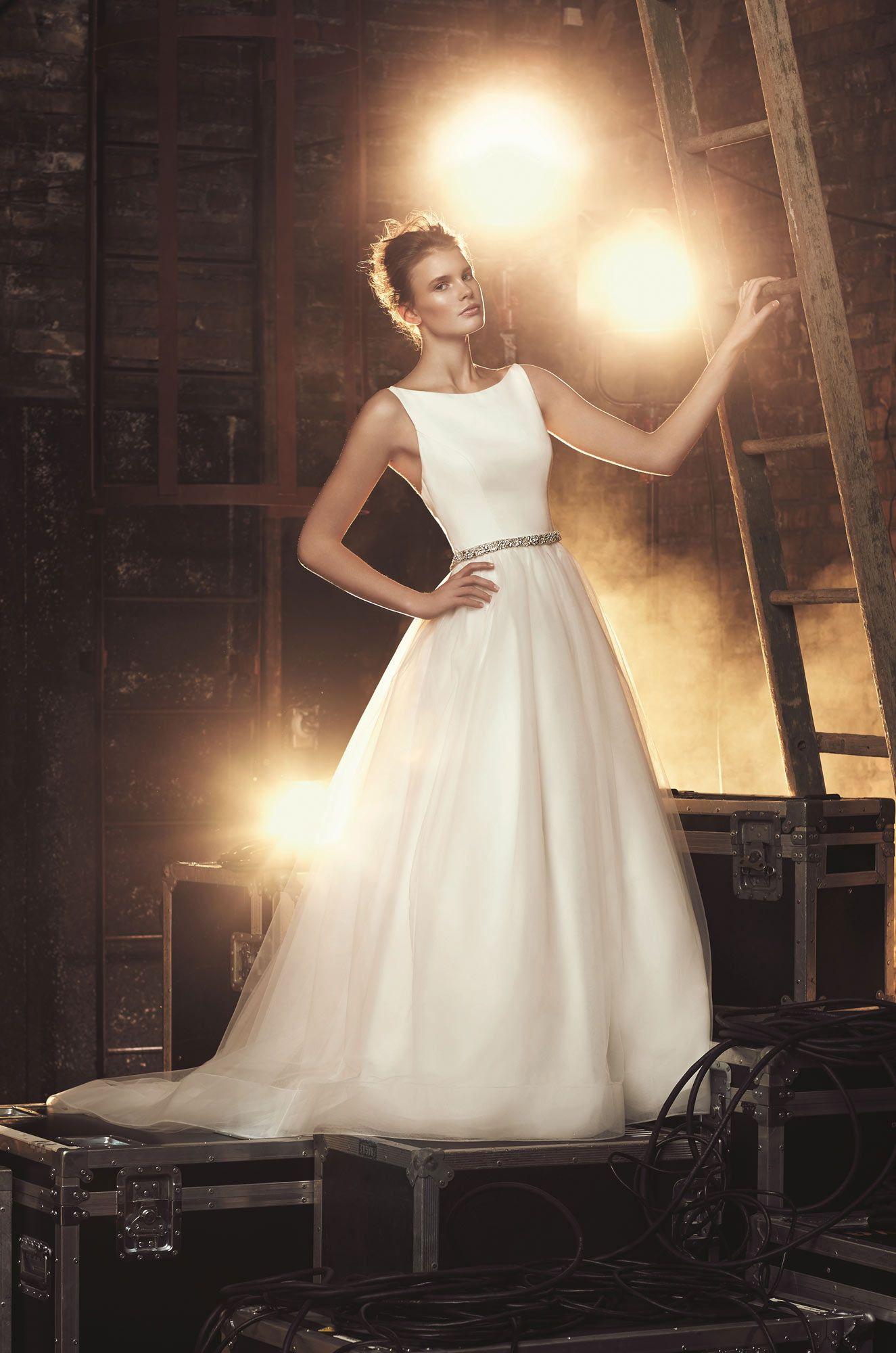 Tulle Skirt Wedding Dress Style 2079 Mikaella Bridal Bridal