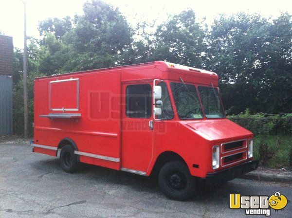 Chevy P30 Mobile Kitchen Truck for Sale in Ohio | Ohio, Food truck ...