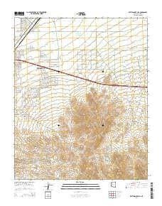 Az Topographic Map.Rattlesnake Hill Az Topo Map 1 24000 Scale 7 5 X 7 5 Minute